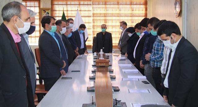 برگزاری مراسم تحلیف و ادای سوگند نیروهای استخدام جدید شرکت آب منطقه ای استان لرستان